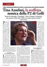 Tina Anselmi di Giovanni Ruotolo - Anpi