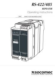 RS422 / RS485 Repeater - IPD ...The