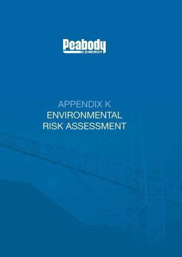 appendix k environmental risk assessment - Peabody Energy