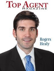 Rogers Healy - Top Agent Magazine