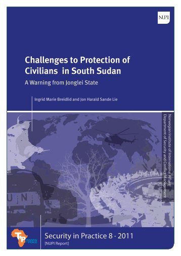 Challenges to Protection of Civilians in South Sudan: A ... - Nupi