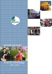 Events Strategy - Devonport City Council