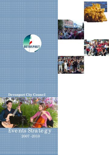 Events Strategy - Devonport City Council