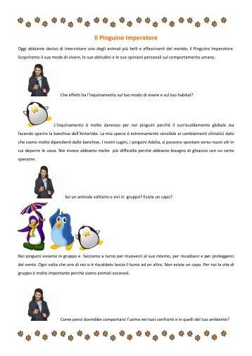 "Intervista al pinguino - I.C. ""G. Galilei"" Tradate"