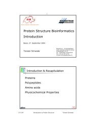 Protein Structure Bioinformatics Introduction - EMBnet node ...