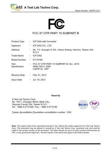 47 cfr part 15 pdf free
