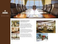 Outrigger Reef on the Beach Meeting Brochure - Outrigger Hotels ...