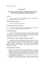 Lēmums - Vides pārraudzības valsts birojs