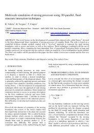 3D Particle in Cell / Fluid Implicit Particle Fluid Solver