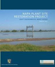 NAPA PLANT SITE RESTORATION PROJECT - South Bay Salt ...