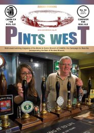 Pints West 84, Winter 2009 - Bristol & District CAMRA