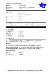 TEILEGUTACHTEN nach §19(3) StVZO Nummer 03-8084-A04-V01 ...
