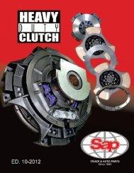 heavy duty clutch catalog - Sapcorp.net