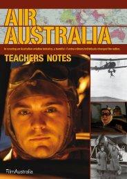 air australia TEACHERS NOTES