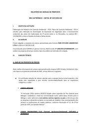 RELATÓRIO DE ANÁLISE DE PROPOSTA RDC ... - Dnit