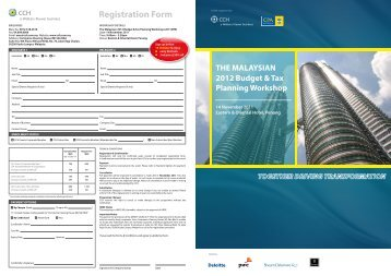 Registration Form - CCH Malaysia