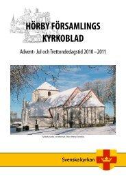 HÖRBY FÖRSAMLINGS KYRKOBLAD - Mild Media