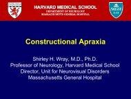 Constructional Apraxia