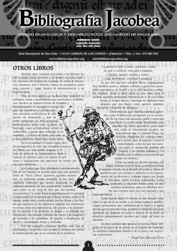 OTROS LIBROS - Biblioteca Jacobea