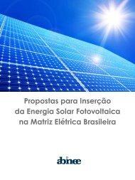 Propostas para Inserção da Energia Solar Fotovoltaica na ... - Cogen