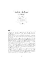 Numéro 3 (.pdf, 191 k) - Inria