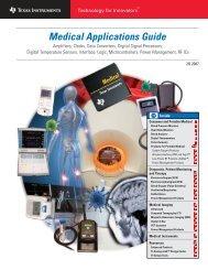 Medical Applications Guide (Rev. B - Mouser Electronics