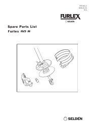 Spare Parts List Furlex 50 S
