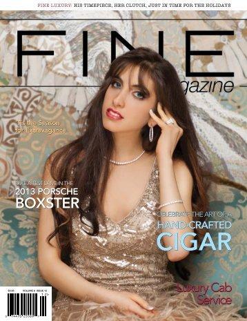 CIGAR CIGAR - FINE Magazine
