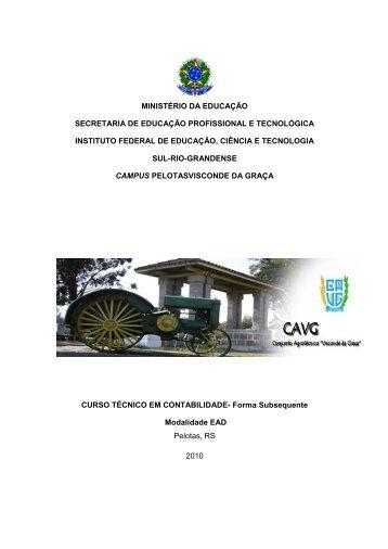PPC_Contabilidade - Instituto Federal Sul-rio-grandense