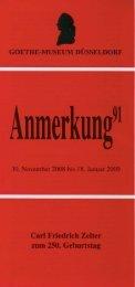 PDF-Download Anmerkung 91 - Goethe-Museum-Düsseldorf