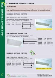 commercial diffused & open commercial diffused ... - Davis Lighting