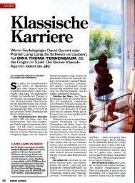 Schweizer Illustrierte 24/2010, Bericht über Dina Thoma, Klassik ...