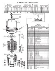 Hayward Super Star-Clear - Home - Swimming Pool Parts Filters ...