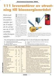 111 leverantörer av utrustning 2002 - Novator