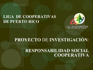 Responsabilidad Social Cooperativa - OCB
