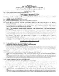 PROGRAM 47th ANNUAL CONFERENCE ... - Virtual Orchard