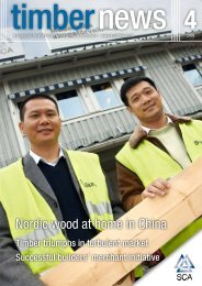 A magazine for SCA's solid wood products customers - SCA Forest ...