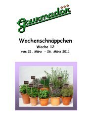 Wochenschnäppchen 12 11 - Gourmador Zollikofen