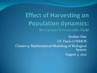 Han, Soohee - COSMOS - UC Davis