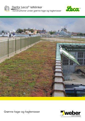 Derfor Leca® letklinker i konstruktioner under grønne tage ... - Weber