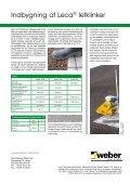 Derfor Leca® letklinker i konstruktioner under grønne tage ... - Weber - Page 4