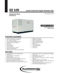 Guardian Elite™ 60kW Spec Sheet