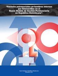 Factores psicosociales en hombres internos por feminicidios