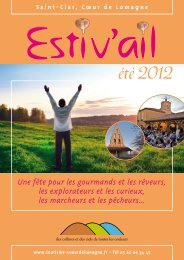 été 2012 - Comité Départemental du Tourisme et des Loisirs du Gers
