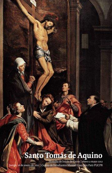 Santo Tomás de Aquino - Pontificia Universidad Católica