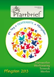 Pfarrblatt Pfingsten 2013 (2,32 MB) - .PDF - Gemeinde