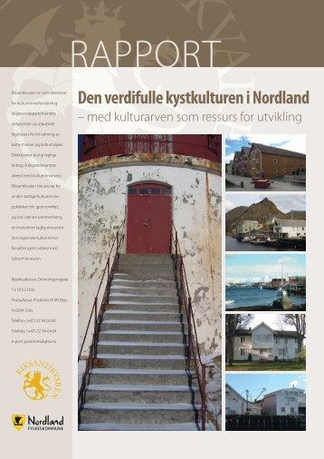 Den verdifulle kystkulturen i Nordland - med ... - Regjeringen.no