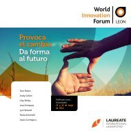 Provoca el cambio Da forma al futuro - My Laureate