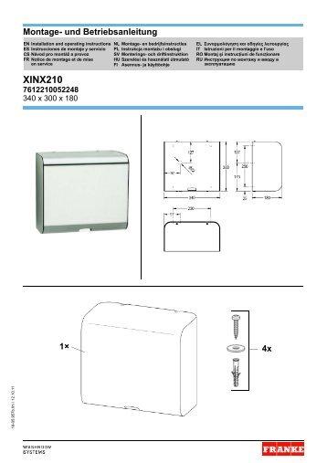 XINX210 (18-05.957b) - Franke