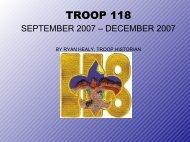 TROOP 118 - AzScout.Org